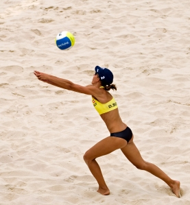 Doris_Schwaiger,_2008_Summer_Olympics_beach_volleyball